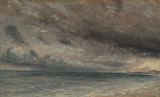 Photo-Print-Reproduction-Stormy-Sea-Brighton-John-Constable-Other-Sizes-Av