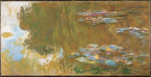Water-Lily-Pond-C-1917-19-Claude-Monet-Unknown-Art-Photo-Poster-Repro-Print-Man