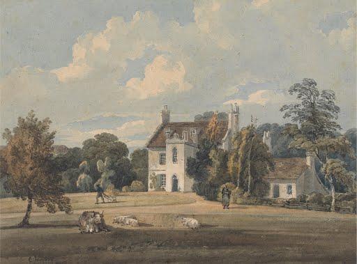 Chalfont-Lodge-Buckinghamshire-Thomas-Girtin-Art-Photo-Poster-Reprint-6x4-A0