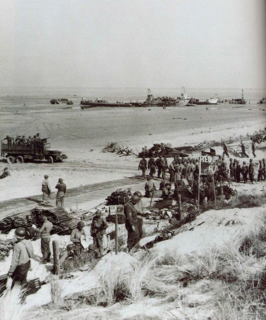 normandy beach essay