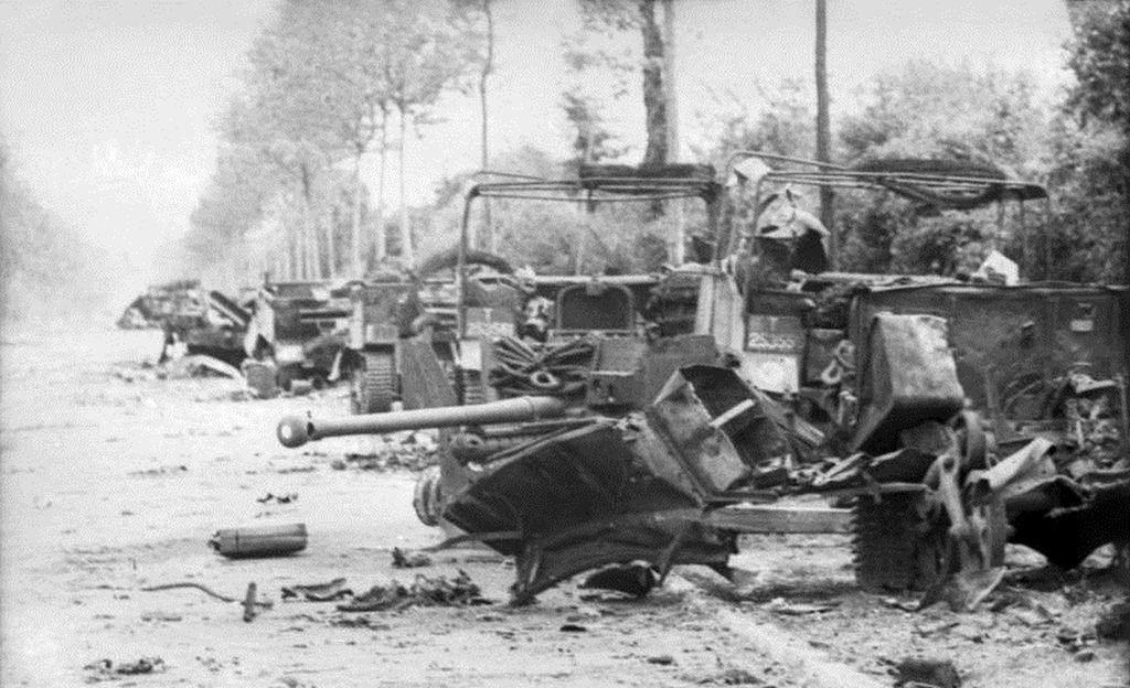 7x5 Gloss Photo ww404 Normandy Calvados Villiers Bocage 1944